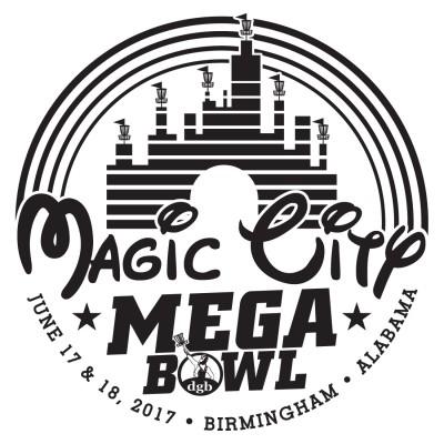 Magic City Mega Bowl sponsored by Dynamic Discs logo