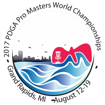 2017 PDGA Professional Master Disc Golf World Championships logo
