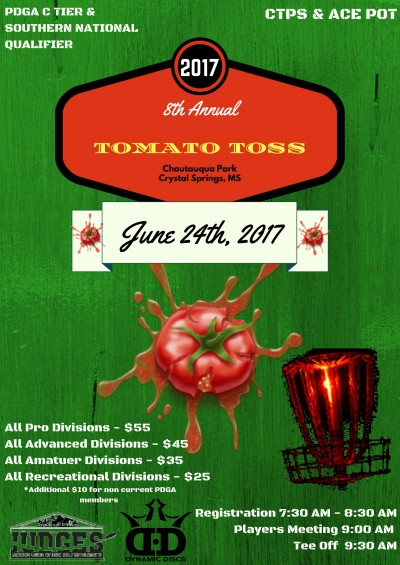 8th Annual Tomato Toss logo