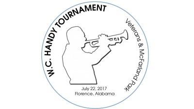 W. C. HANDY Tournament logo