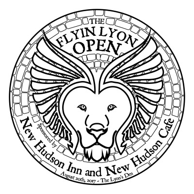 The Flyin Lyon Open logo