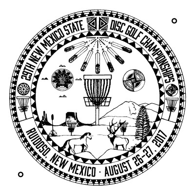 29th New Mexico State Disc Golf Championships logo