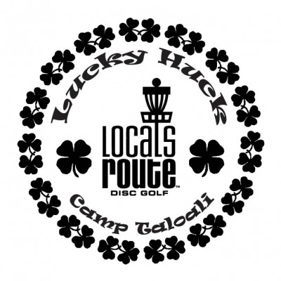 Locals Route Disc Golf Presents: Lucky Huck 4 logo