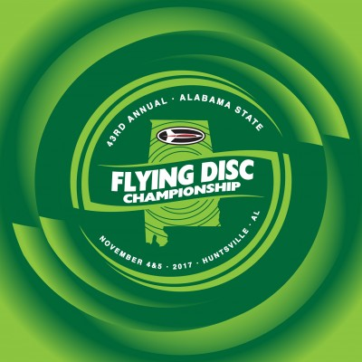 43RD ANNUAL ALABAMA STATE FLYING DISC CHAMPIONSHIP logo