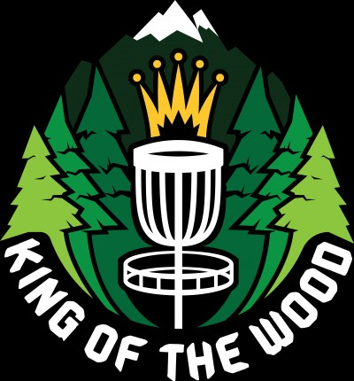 "1st Annual ""King of the Wood"" logo"
