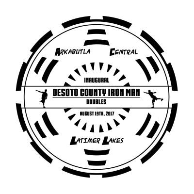 Desoto County Iron Man logo