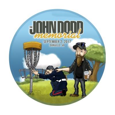 The John Dodd Memorial benefiting the Semper Fi Fund logo