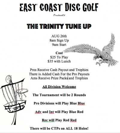 The Trinity Tune Up logo