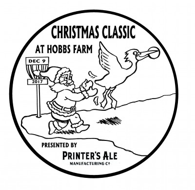 Christmas Classic at Hobbs Farm, Presented by Printer's Ale logo