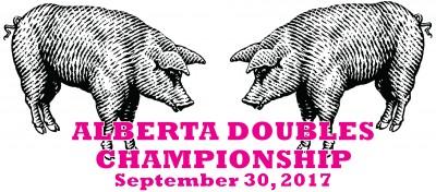 Prodigy Disc and True North Disc Golf presents Alberta Provincial Doubles logo