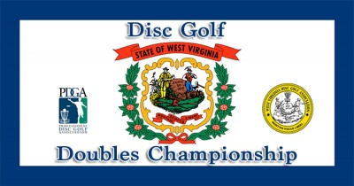 West Virginia Disc Golf Doubles Championship 2017 logo