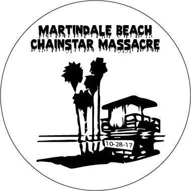 Martindale Beach Chainstar Massacre logo