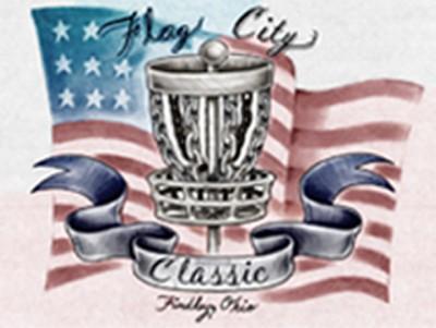 Flag City Classic Driven by Innova Champion Discs logo