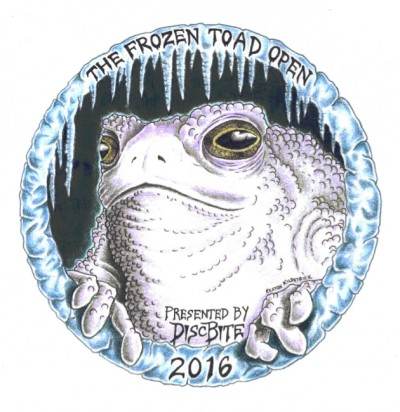 The 2nd Annual Frozen Toad Open logo