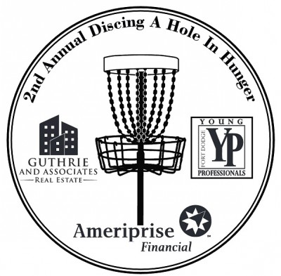 2nd Annual Discing a hole in Hunger logo