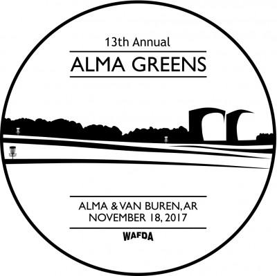 13th Annual Alma Greens logo