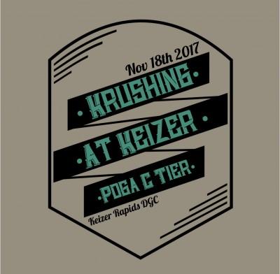 Krushing at Keizer logo