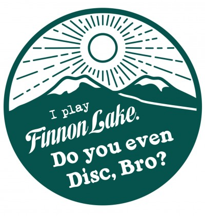 2nd Annual Finnon Lake Invitational presented by Hangtown Disc Golf Club logo