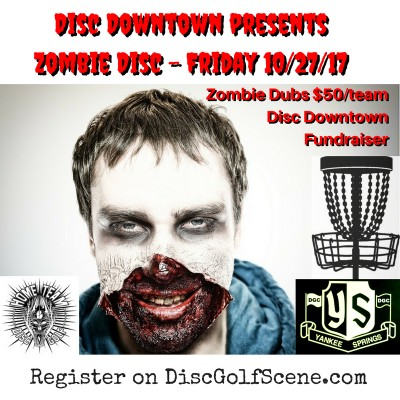 Disc Downtown presents Zombie Disc logo