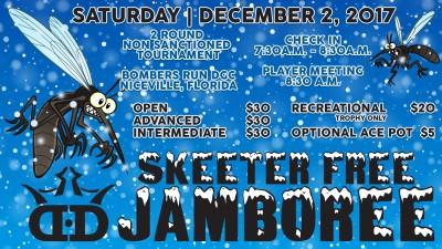 Skeeter Free Jamboree presented by Dynamic Discs logo