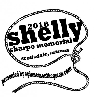 Shelly Sharpe Memorial presented by SpinnersontheGreen.com logo
