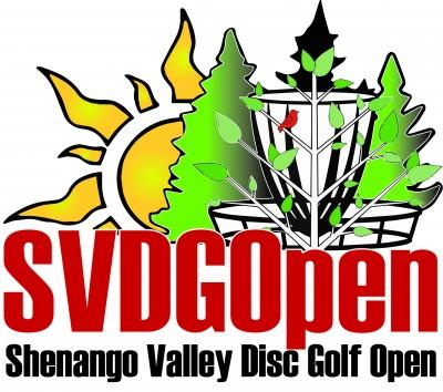 Shenango Valley Disc Golf Open 2018 sponsored by Dynamic Discs logo