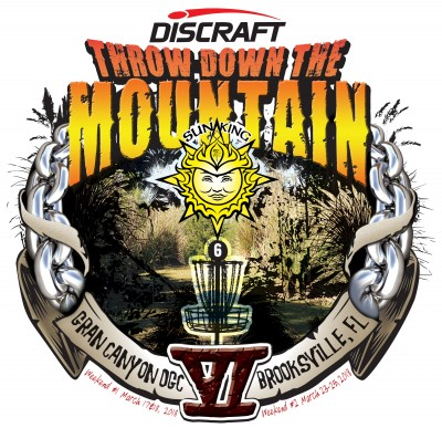 Discraft presents Sun King's Throw Down the Mountain VI (Weekend 1) logo