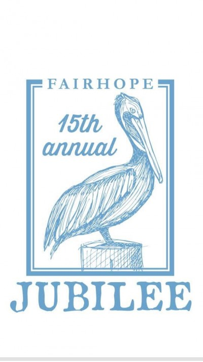 The 15th Annual Fairhope Jubilee Presented by Prodigy Disc logo