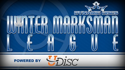 Winter Marksman Leagues-Walt Clark Middle School presented by Dynamic Discs (age cap 14yrs old) logo