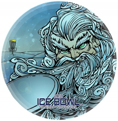 2018 IDGC Ice Bowl logo
