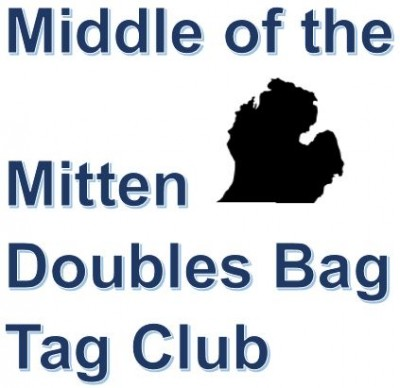 Middle Of The Mitten Doubles Bag Tags Tournament #12 logo