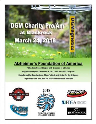 DGM Charity Pro/Am at Blackrock presented by Innova logo