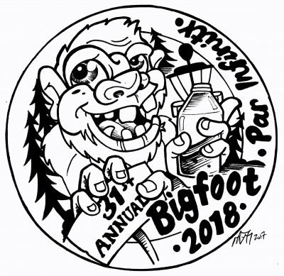 Par Infinity's 31st Annual Bigfoot Tournament logo