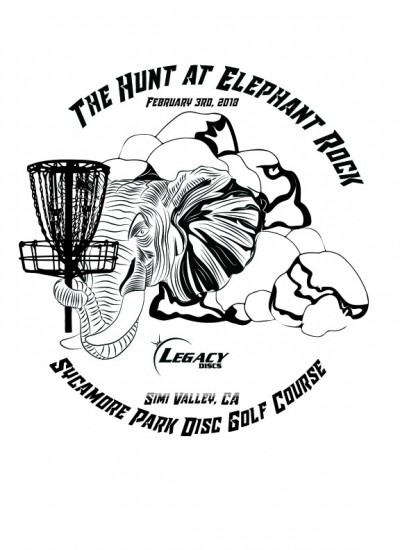 The Hunt at Elephant Rock 2018 presented by Legacy Discs logo