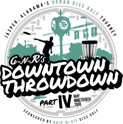 Downtown Throwdown 4 Sponsored by Dynamic Discs logo