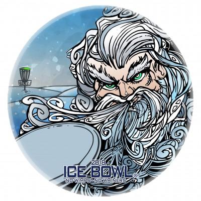 9th Annual Frigid Doe Ice Bowl logo