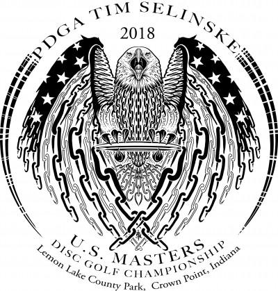 2018 PDGA Tim Selinske United States Masters Championship Driven by INNOVA logo