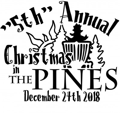 """5th"" Annual Christmas in the Pines logo"