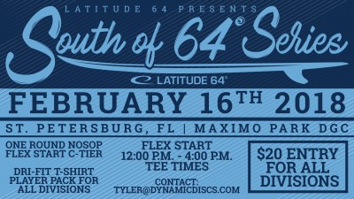 2nd Annual North - South Pinellas County Championship Flex Start Friday presented by Latitude 64 logo