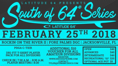 Rockin on the River II presented by Latitude 64 logo