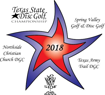 2018 Texas State Disc Golf Championships logo