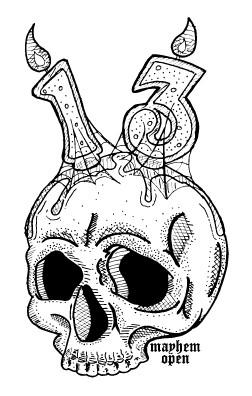 13th Mayhem Open All Int, Rec, Nov,Junior Divisions Sunday logo