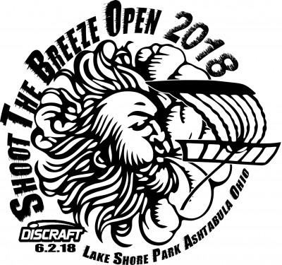 Discraft Shoot the Breeze Open 2018 logo