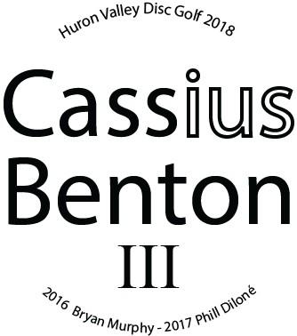 Cassius Benton logo