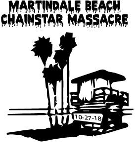 Martindale Beach Chainstar Massacre logo