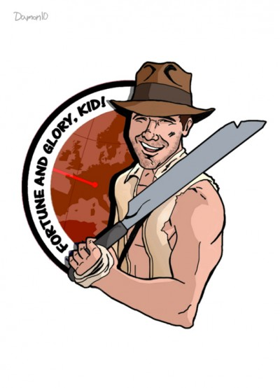 Raiders of the Lost Park Presented by Buckeye Discs logo
