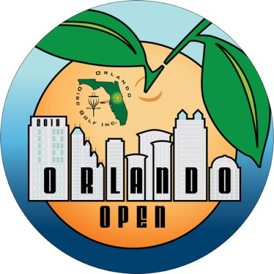 2019 Orlando Open sponsored by  Dynamic Discs logo