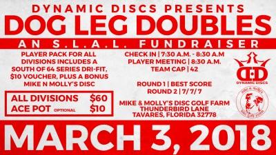 Dog Leg Doubles presented by Latitude 64 logo
