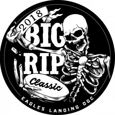 2018 Big Rip Classic Presented by Discraft logo