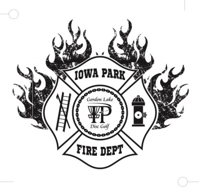 Iowa Park Volunteer Fire Department Open presented by Legacy Discs GDG 5K/ 10K Event logo